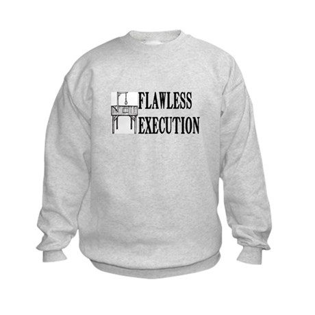 Flawless Execution Kids Sweatshirt