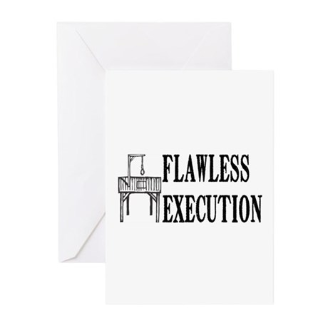 Flawless Execution Greeting Cards (Pk of 10)