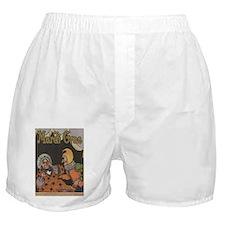 Punch And Judy AT MArdi Gras Boxer Shorts