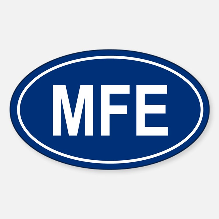 MFE Oval Decal