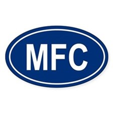 MFC Oval Decal