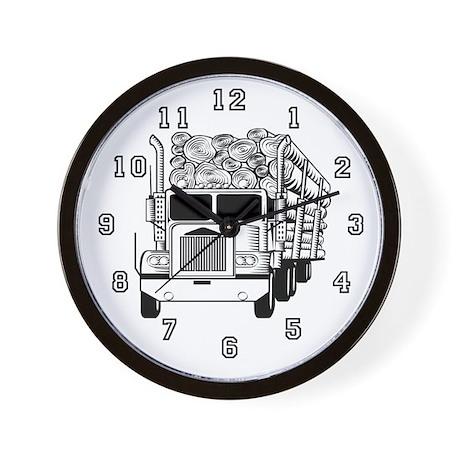 Truck Driver Wall Clock