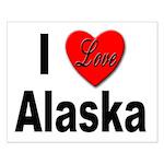 I Love Alaska Small Poster