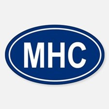 MHC Oval Decal