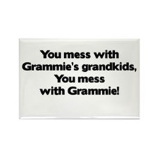 Don't Mess with Grammie's Grandkids! Rectangle Mag