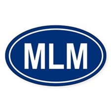 MLM Oval Decal