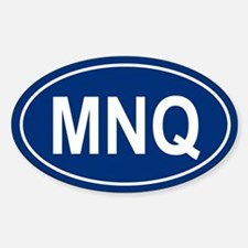 MNQ Oval Decal