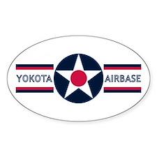 Yokota Air Base Oval Decal