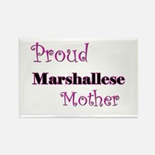Proud Marshallese Mother Rectangle Magnet