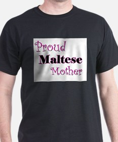 Proud Maltese Mother T-Shirt