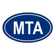 MTA Oval Decal