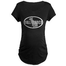 Bull Terrier Oval w/Text T-Shirt