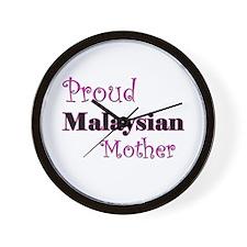 Proud Malaysian Mother Wall Clock
