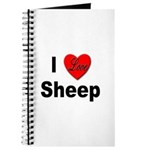 I Love Sheep for Sheep Lovers Journal