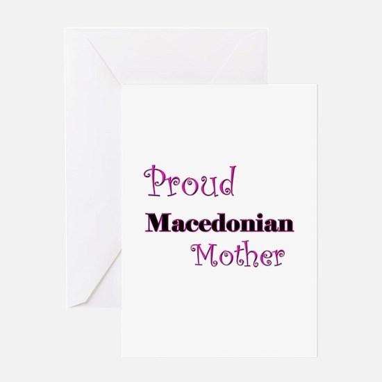 Proud Macedonian Mother Greeting Card