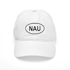 Nauru Oval Baseball Cap