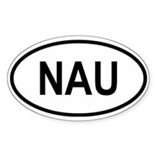 Nauru Oval Decal