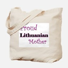 Proud Lithuanian Mother Tote Bag