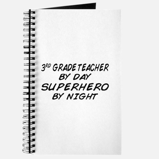 3rd Grade Teacher Superhero Journal