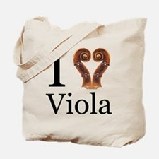I Love Viola Tote Bag