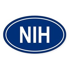 NIH Oval Bumper Stickers