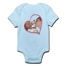 Love H Puppy Heartline Infant Bodysuit