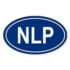 NLP Oval Decal