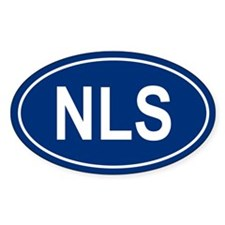 NLS Oval Decal