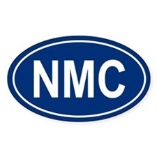 NMC Oval Decal