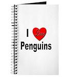 I Love Penguins for Penguin Lovers Journal
