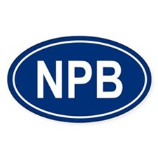 NPB Oval Decal