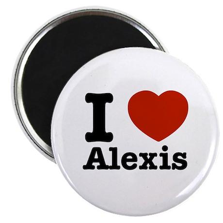 I love Alexis Magnet