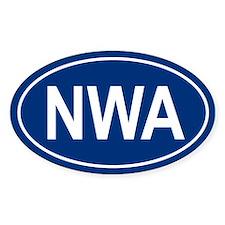 NWA Oval Bumper Stickers