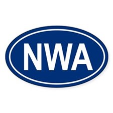 NWA Oval Decal