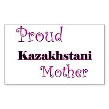 Proud Kazakhstani Mother Rectangle Decal