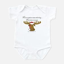 Moose Christmas Infant Bodysuit