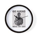 Make My Day Wall Clock
