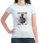 Make My Day Jr. Ringer T-Shirt