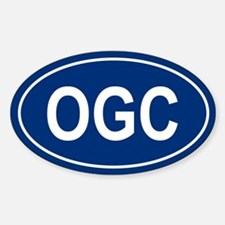 OGC Oval Decal