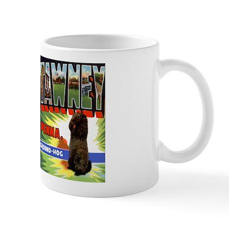 Punxsutawney Pennsylvania Groundhogs Day Mug