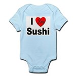 I Love Sushi for Sushi Lovers Infant Creeper