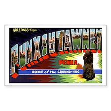 Punxsutawney Pennsylvania Groundhogs Day Decal