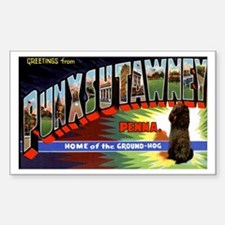 Punxsutawney Pennsylvania Groundhogs Day Decal