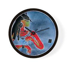 Egyptian Woman Wall Clock