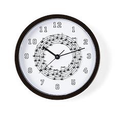 Musician Wall Clock