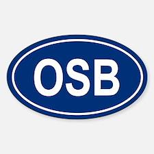 OSB Oval Decal