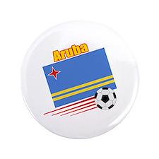 """Aruba Soccer Team 3.5"""" Button (100 pack)"""