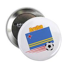 """Aruba Soccer Team 2.25"""" Button (10 pack)"""