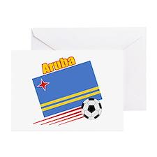Aruba Soccer Team Greeting Cards (Pk of 10)