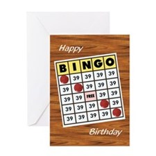 Bingo - Birthday Card